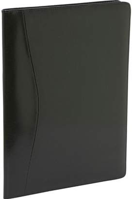 Royce Leather Royce 749-AR Aristo Padfolio Leather Executive Leather Writing Portfolio, Writing Pad, Presentation Folder, Business Case with inserted note pad and folder for documents