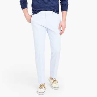 J.Crew Ludlow unstructured suit pant in blue seersucker