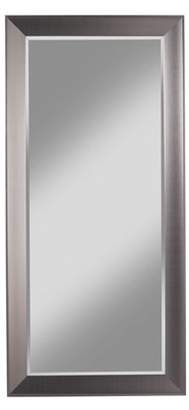 Sandberg Furniture Contemporary Silver Full Length Leaner Mirror