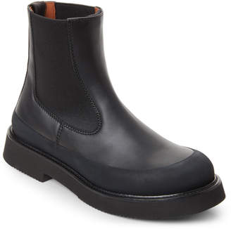 Celine Black Leather Chelsea Boots