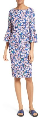 Women's Tracy Reese Floral Stretch Silk Sheath Dress $348 thestylecure.com