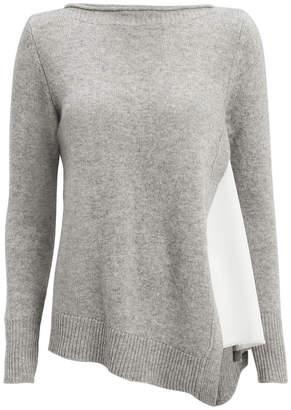 Brochu Walker Arctic Grey Layered Sweater