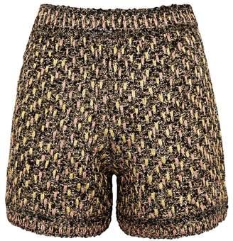 M Missoni Metallic Tweed Shorts