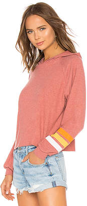 Michael Lauren Delaney Cropped Pullover