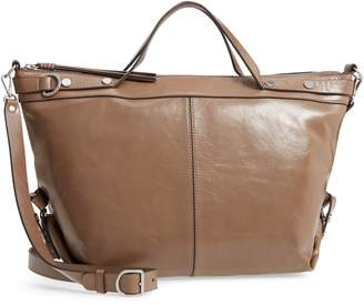 Treasure & Bond Perry Glazed Leather Convertible Satchel