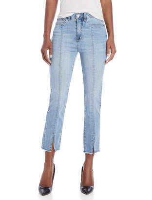 Kensie Sky High-Rise Center Slit Jeans