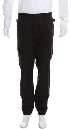 Helmut Lang Cropped Flat Front Casual Pants w/ Tags