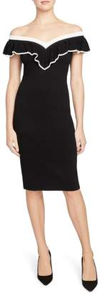 Rachel Roy COLLECTION Ruffle Convertible Sweater Dress
