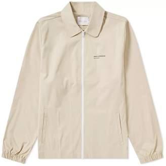 Drôle De Monsieur Drole de Monsieur Block Logo Zip Shirt Jacket