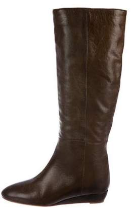 Loeffler Randall Wedge Knee Boots