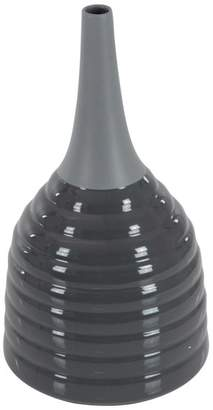 Brimfield & May Contemporary Round Ceramic Bottle-Shaped Vase