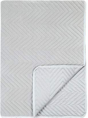 George Home Grey Quilted Throw