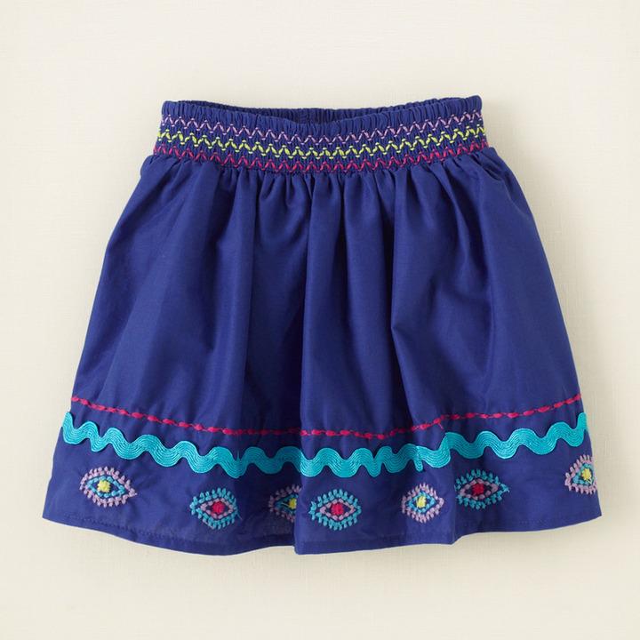 Children's Place Border embroidered skirt