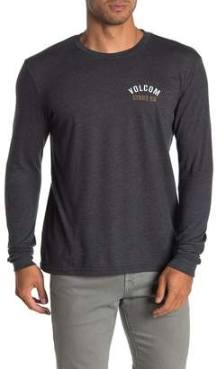 Volcom Safe Bet Logo Long Sleeve T-Shirt