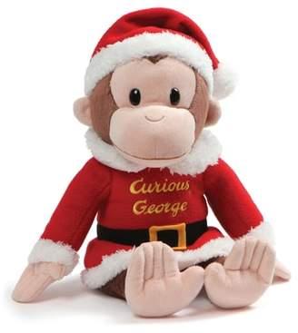 Gund Curious George(R) Santa Stuffed Animal
