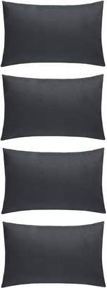 Very Plain Dye Standard Pillowcases (4 Pack)