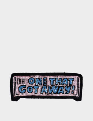 Olympia Le-Tan Olympia Le Tan Patch The One That Got Away Bag Accessory in Pink Glass Beads