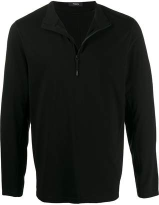Theory Bolt half zip sweatshirt