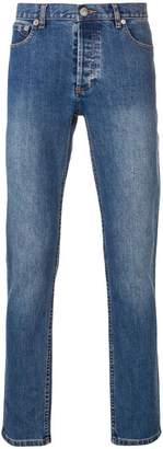 A.P.C. X KID CUDI slim fit jeans