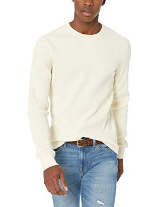 J.Crew Mercantile Men's Long-Sleeve Thermal Crewneck T-Shirt