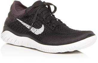 Nike Women's Free RN Flyknit 2018 Lace Up Sneakers