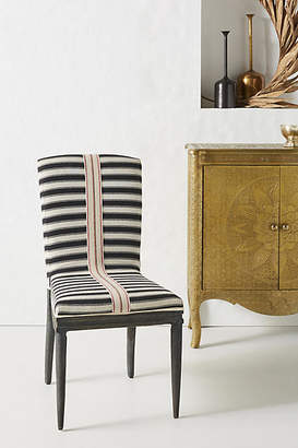Anthropologie Tracey Boyd Grassland Stripe Dining Chair