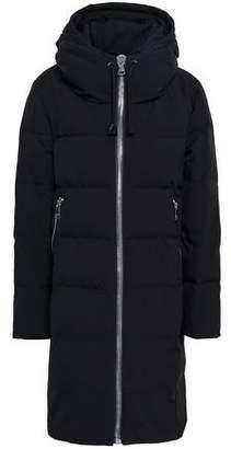 DKNY Shell Hooded Down Coat