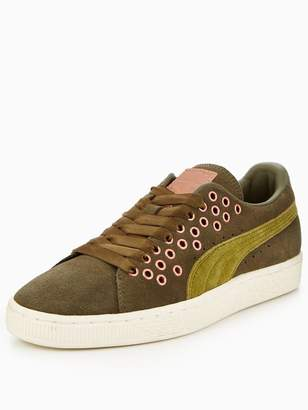 Puma Suede XL Lace VR - Olive