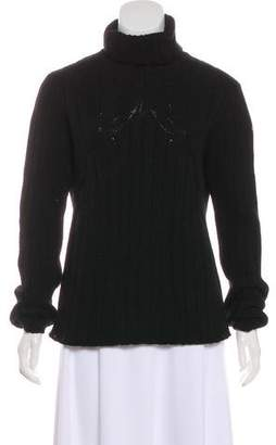 Moncler Turtle Neck Long Sleeve Sweater