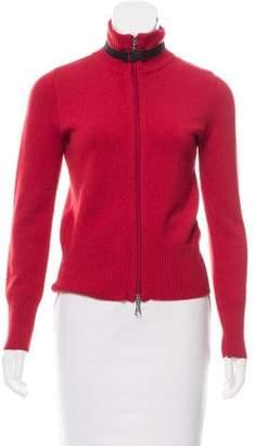 Moncler Wool Rib Knit Sweater