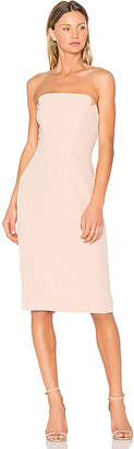 Jill Stuart Strapless Midi Dress