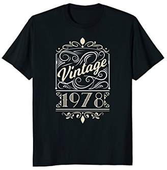 Vintage 1978 40th Birthday Shirt