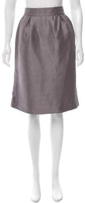 Valentino Silk Pleated Skirt w/ Tags