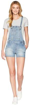 Miss Me Five-Pocket Overall Shorts Women's Shorts