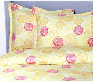 Melange Lemon Lime Duvet Set