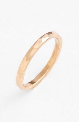 Women's Nashelle Ija Hammered Ring $73 thestylecure.com