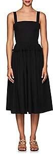 Barneys New York Women's Cotton Poplin Bustier Dress - Black