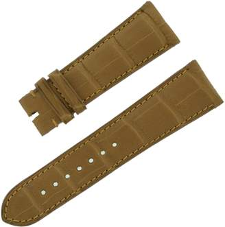 Chopard 22 - 18 mm Matt Chestnut Genuine Alligator Men's Watch Band