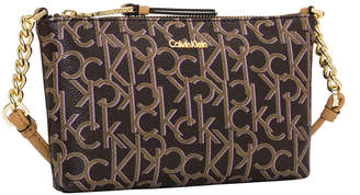 At Myer Calvin Klein Hudson Zip Top Crossbody Bag H7dej2cr Lix