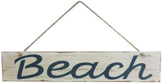 Handcrafted Nautical Decor 14 Wooden Rustic Beach Sign Wall Dcor