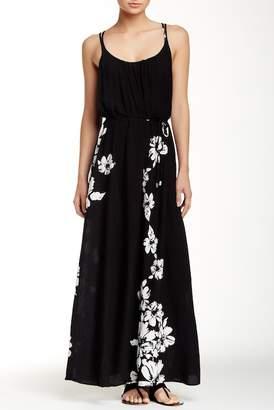 Love Stitch Floral Print Racerback Dress