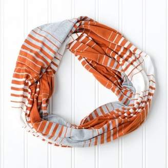 """Tickled Pink Striped """"Game Day"""" Infinity Scarf, 15"""" x 62"""", 100% Polyester, Multiple Colors"""
