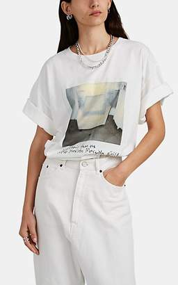 MM6 MAISON MARGIELA Women's Graphic Cotton T-Shirt - White