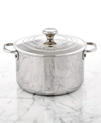 Le Creuset Stainless Steel 4-Qt. Soup Pot