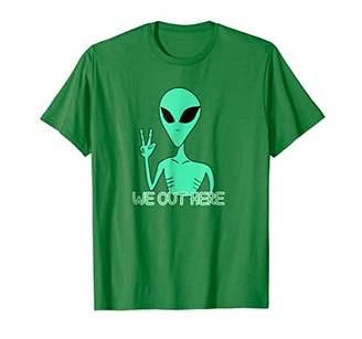 Alien Here UFO T shirt I Believe in Aliens T-shirt