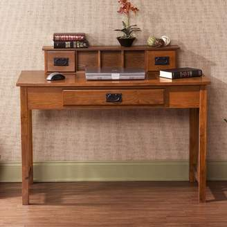 Wildon Home Writing Desk with Hutch