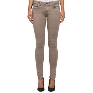 Brown Skinny Stretch Jeans