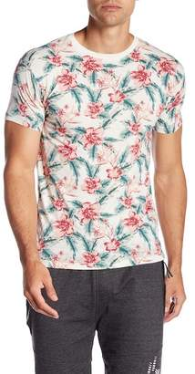 Soul Star Floral Print Graphic Tee