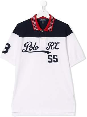 Ralph Lauren TEEN embroidered polo shirt