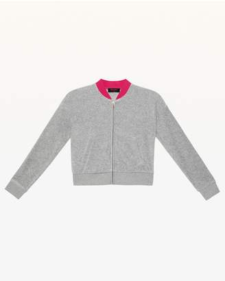 Juicy Couture Juicy Magnifique Velour Westwood Jacket for Girls